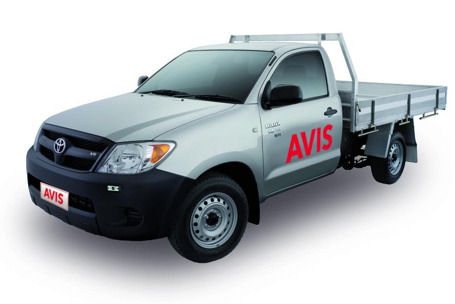 AVIS - Toyota Hilux Ute 2013