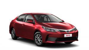 Group D - Toyota Corolla Sedan - SCAR